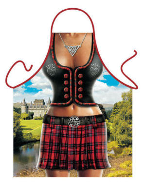 Scottish Woman Novelty Apron.
