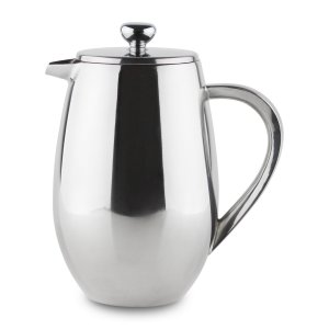 Grunwerg Cafe Ole BFD Bellied Double Wall Cafetiere 3 Cups (0.35 Litre) BFD-03