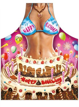 Happy Birthday Woman Novelty Apron