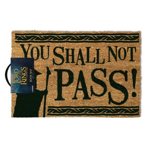 The Lord Of The Rings You Shall Not Pass Door Mat