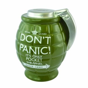 Dad's Army Don't Panic Grenade Money Bank