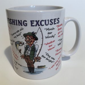 Fishing Excuses Ceramic Mug