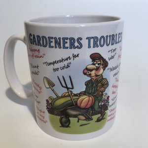 Gardeners Excuses Ceramic Mug